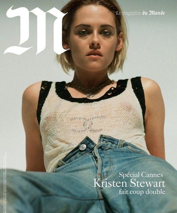Кристен Стюарт позирует для «Каннского» спецвыпуска Le Monde