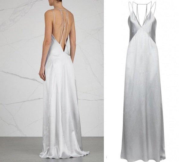 Сколько стоит это платье: Селена Гомес в дымчатом наряде от Galvan