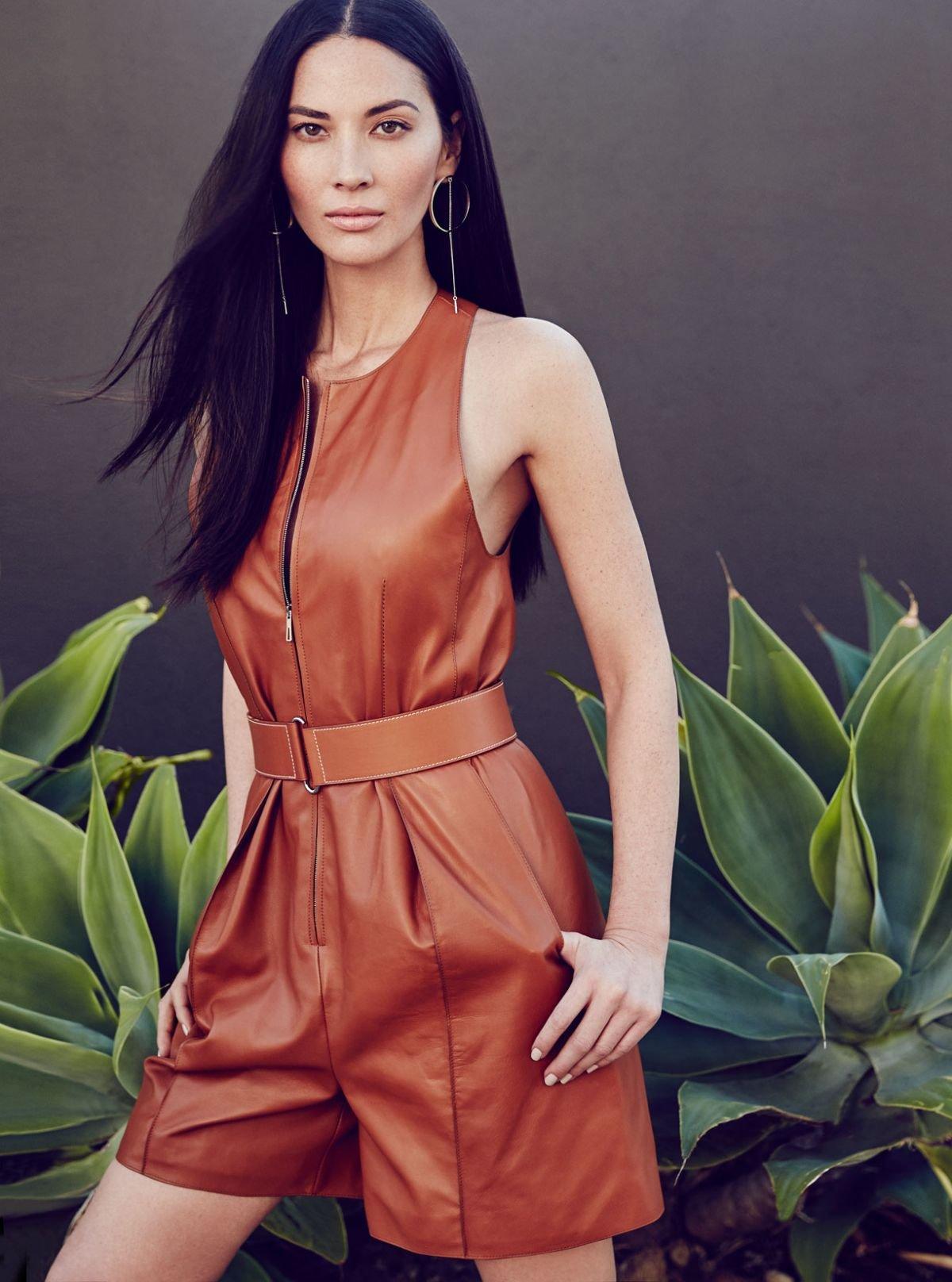 Оливия Манн украсила собою обложку журнала Fashion