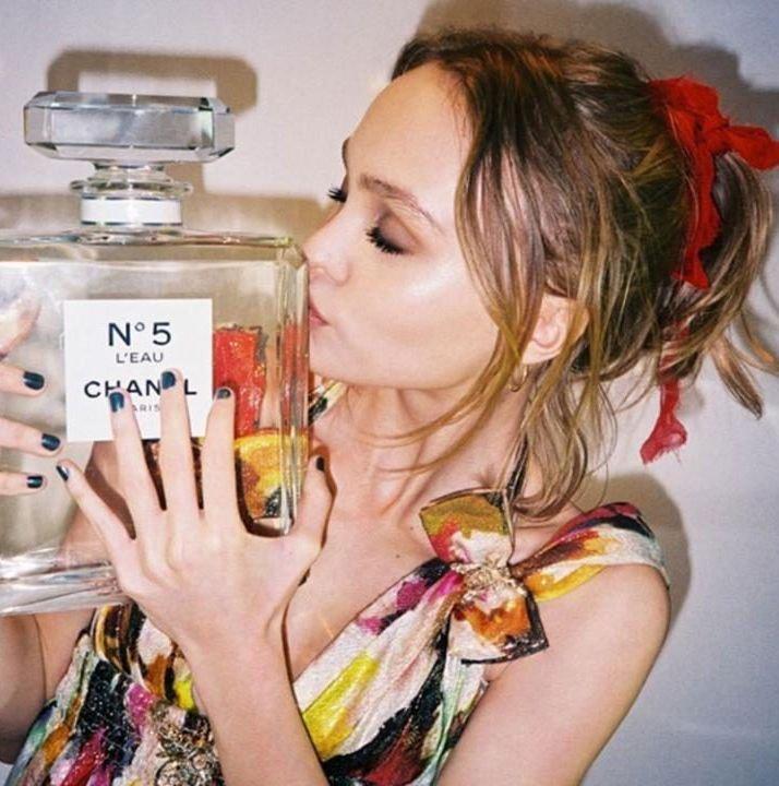 Лили-Роуз Депп - новое лицо Chanel No.5