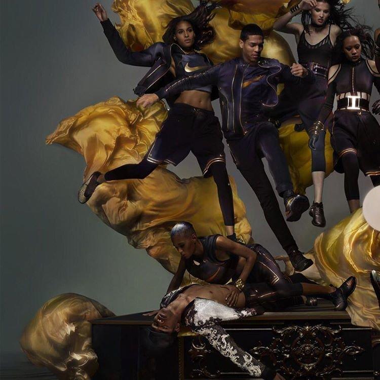 Креативный директор Balmain Оливье Рустен создал коллекцию для Nike