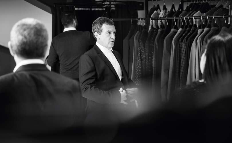 Антонио Бандерас представил коллекцию одежды бренда Selected