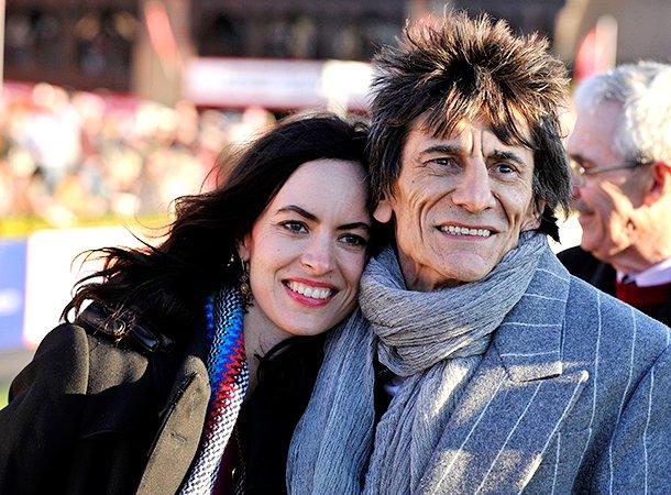 68-летний музыкант Ронни Вуд стал отцом близняшек