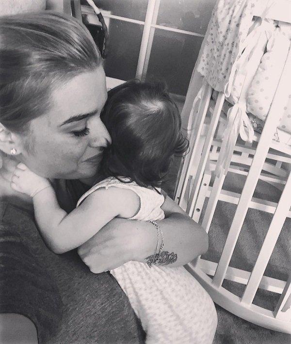 Ксения Бородина показала лицо младшей дочери, но тут же поняла, что сделала ошибку