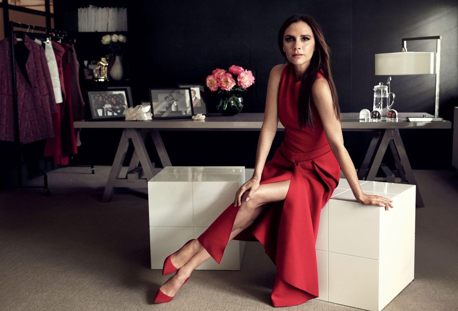 Виктория Бекхэм блистает на обложке китайского Tatler