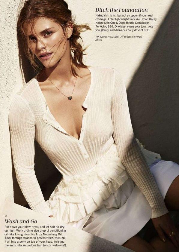 Нина Агдал позирует для летнего выпуска Cosmopolitan
