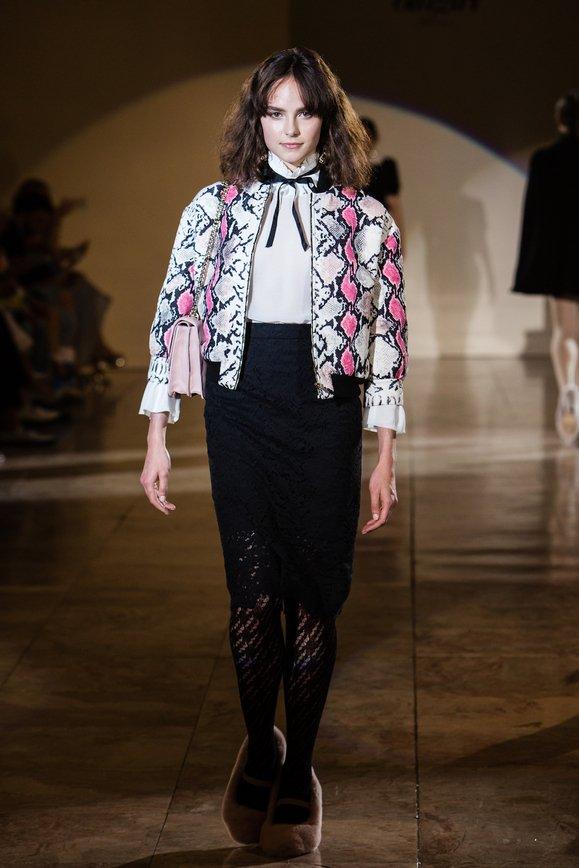 Итальянский дизайнер Анна Молинари представила новую коллекцию в Санкт-Петербурге