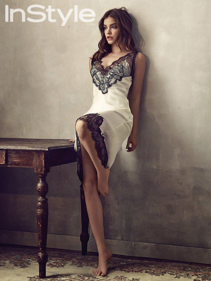 Барбара Палвин позирует в легких нарядах весенних коллекций
