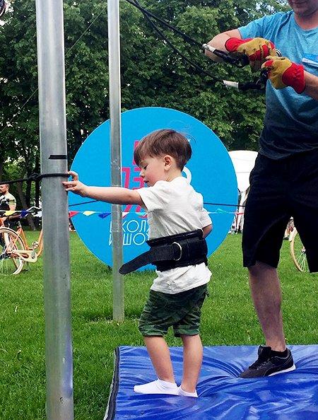 Сын Дмитрия Шепелева и Жанны Фриске хочет стать спортсменом