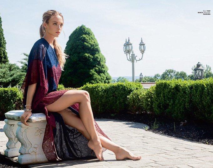 Ханна Фергюсон украсила обложку Marie Claire