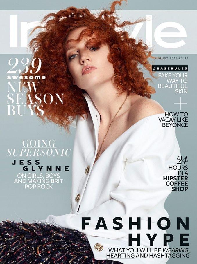 Певица Джесс Глинн украсила обложку InStyle UK