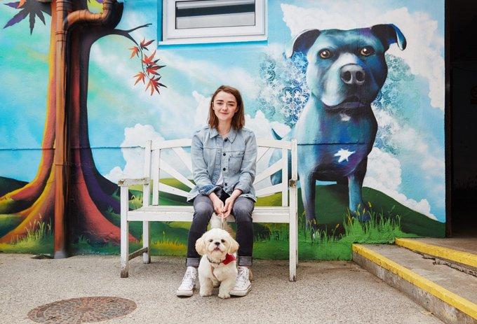 Мэйси Уильямс снялась в очаровательной фотосессии
