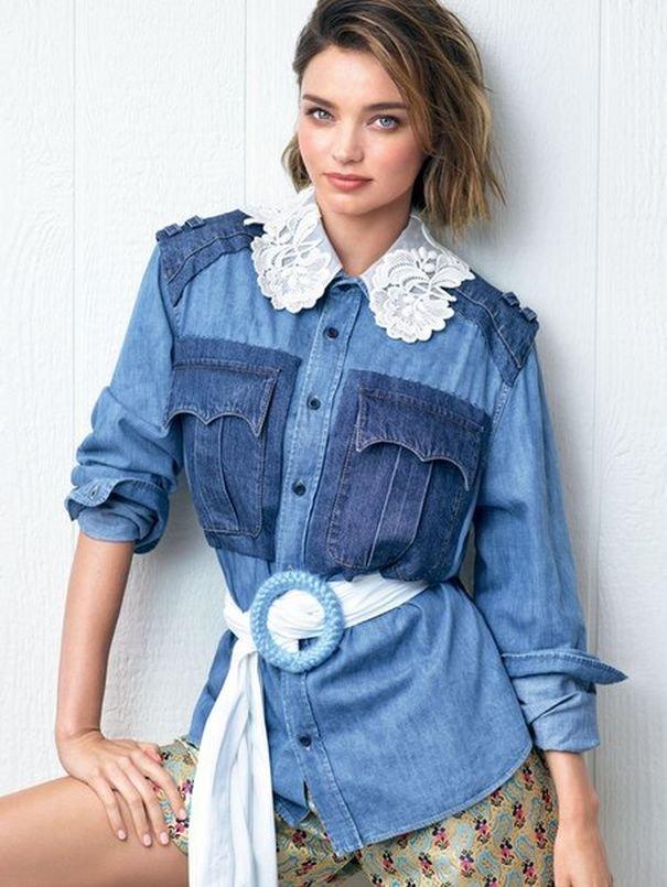 Миранда Керр изменила прическу для новой фотосессии Elle