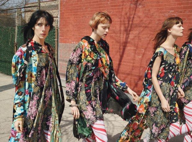 Ирина Шейк,  Белла Хадид и другие в необычной фотосессии для W Magazine