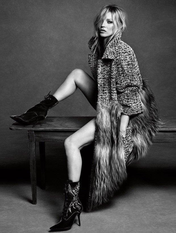 Кейт Мосс стала лицом коллекции Alberta Ferretti осень-зима 2016