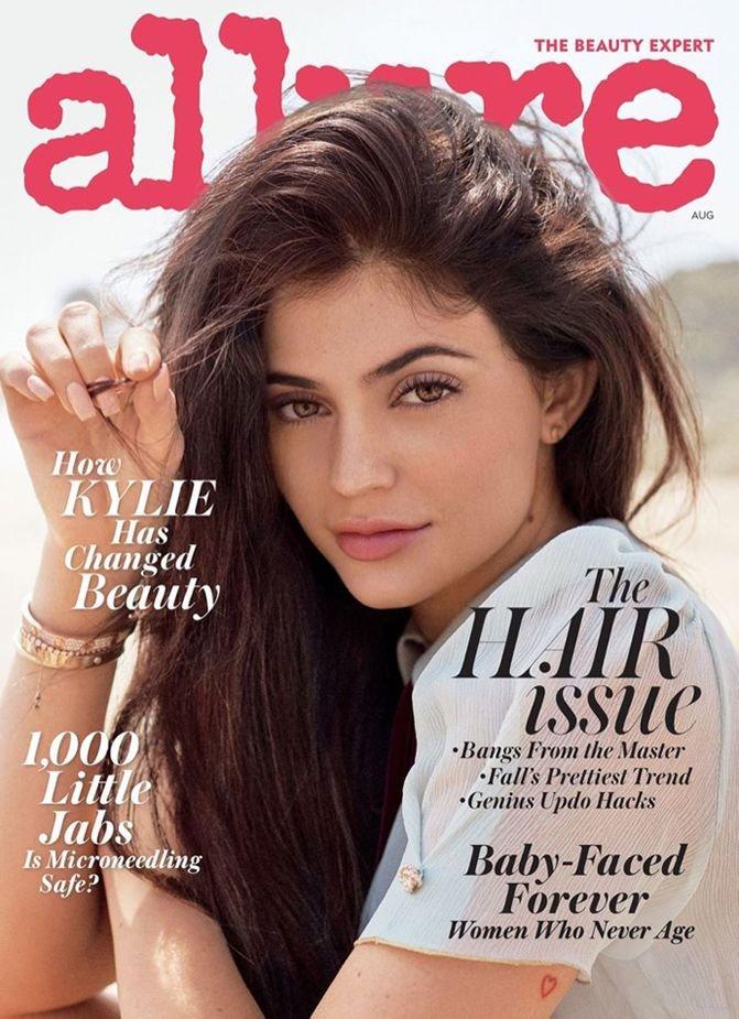 Кайли Дженнер украсила страницы Allure Magazine