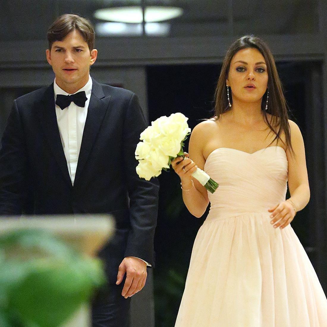 Мила Кунис не собиралась выходить замуж за Эштона Катчера