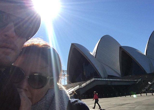 Ляйсан Утяшева и Павел Воля показали фото с отдыха в Австралии