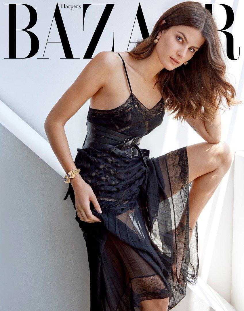 Неподражаемая Изабели Фонтана украсила страницы Harper's Bazaar