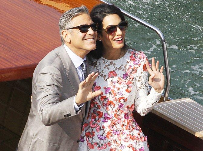 Джордж Клуни впервые станет отцом