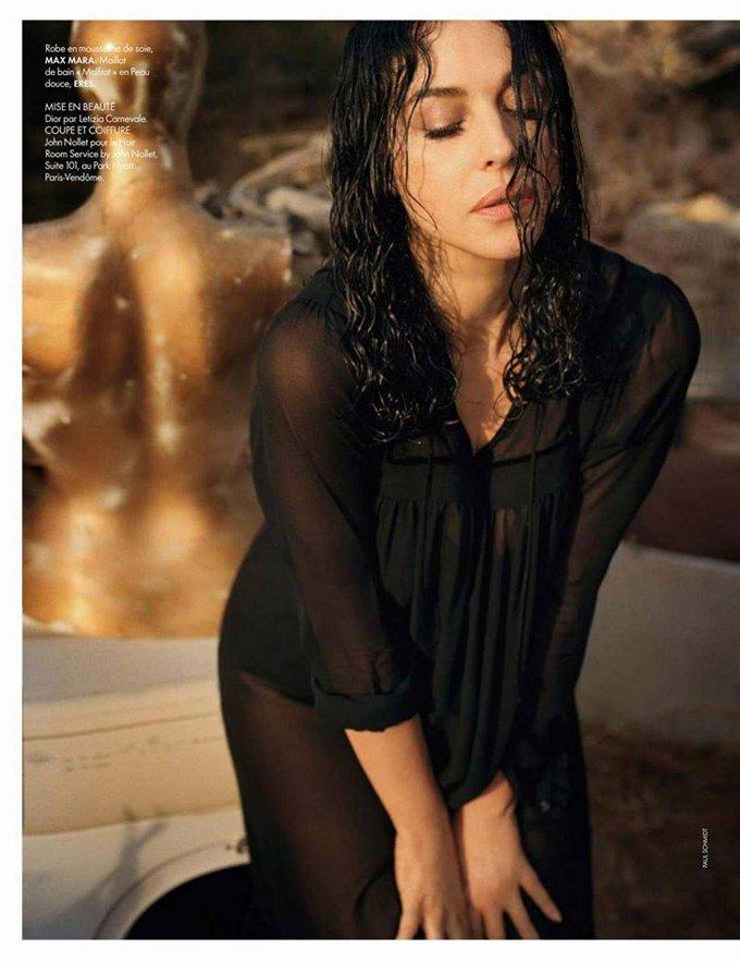 Роскошная Моника Беллуччи украсила обложку Elle