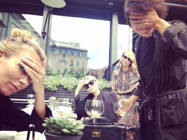 Светлана Бондарчук свела Ренату Литвинову и Земфиру в ресторане Юрмалы