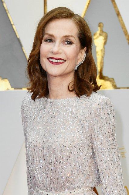 Изабель Юппер на красной дорожке «Оскар-2017»