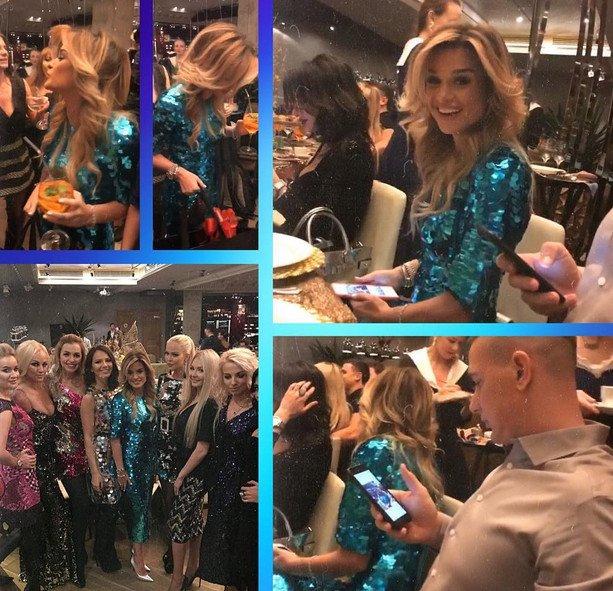 """В честь Дня Рождения, Ксения Бородина собрала подруг на """"рыбную"""" вечеринку"""