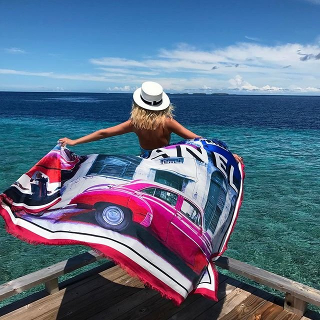 Яна Рудковская обновила блог снимками с отдыха на Мальдивах