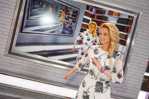 "Александр Пушной и Елена Николаева в новому шоу на телеканале ""Россия 1"""