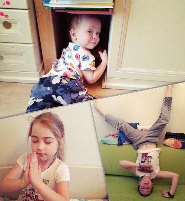Старший сын Тутты Ларсен попросил четвертого ребенка