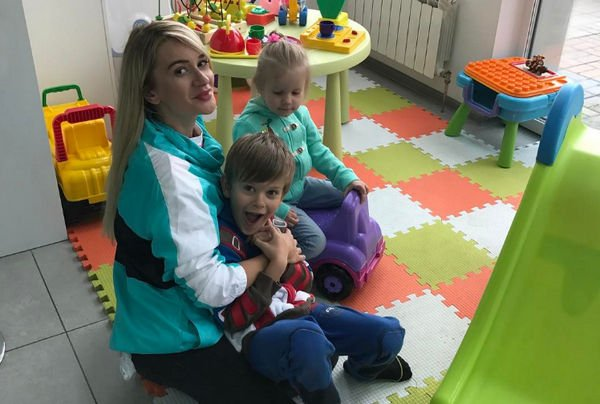 Елена Бушина и ее дети заболели