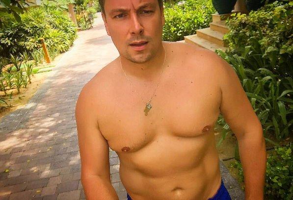 Андрей Чуев пытается достичь совершенства своего тела