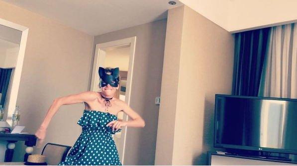 Супруг Анны Хилькевич разместил смешное видео с супругой