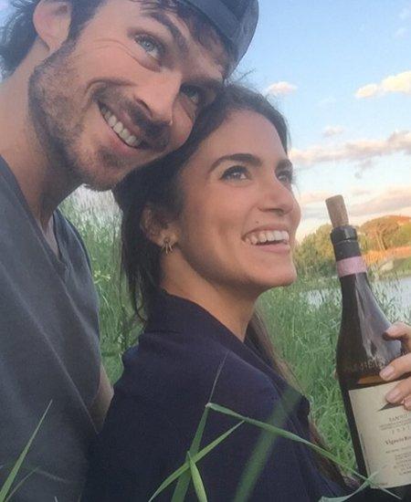 Беременная Никки Рид получила трогательное поздравление с днем рождения от мужа