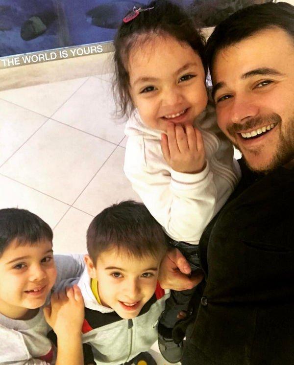 Эмир Агаларов ответил на вопросы о детях