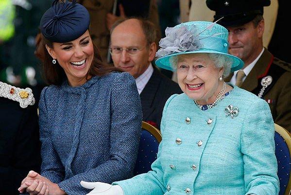 Кейт Миддлтон призналась, какие у нее отношения с Елизаветой II