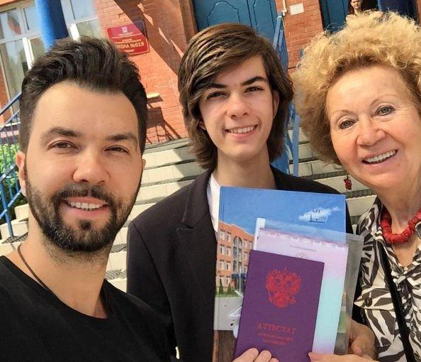 Денис Клявер рассказал об успехах старшего сына