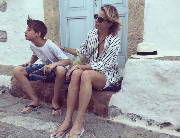 Юлия Высокая поделилась фотографиями подросшего сына