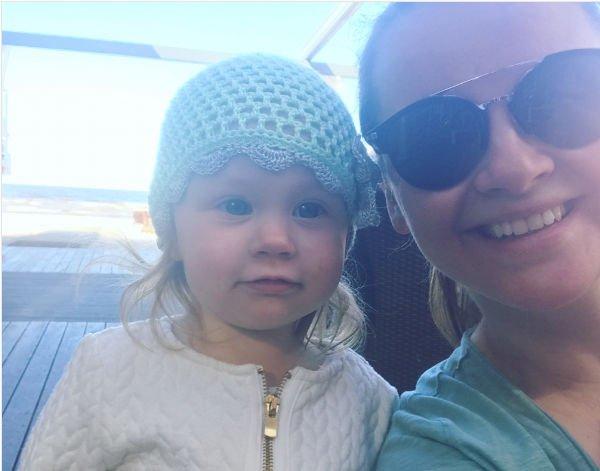 Юлия Проскурякова поделилась снимком с дочерью в бикини