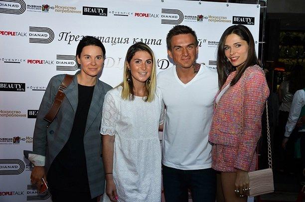 Влад Топалов попробовал расслабился на презентации нового клипа Дианы Ди