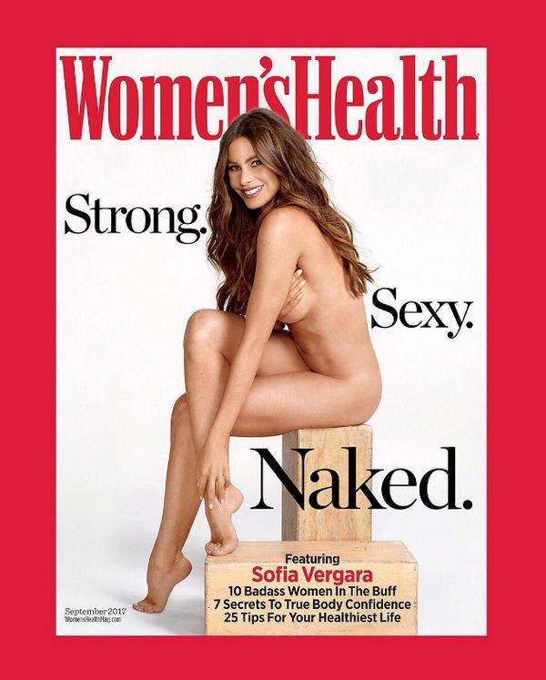 София Вергара снялась в откровенной фотосессии без одежды