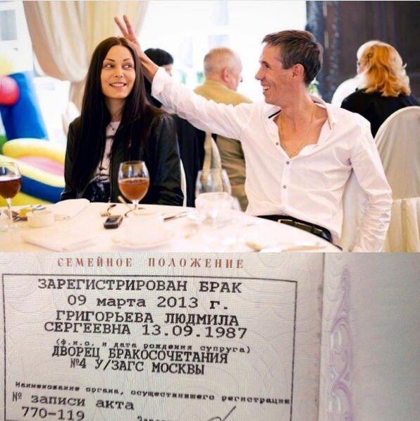 Алексей Панин женат уже на протяжении 4,5 лет