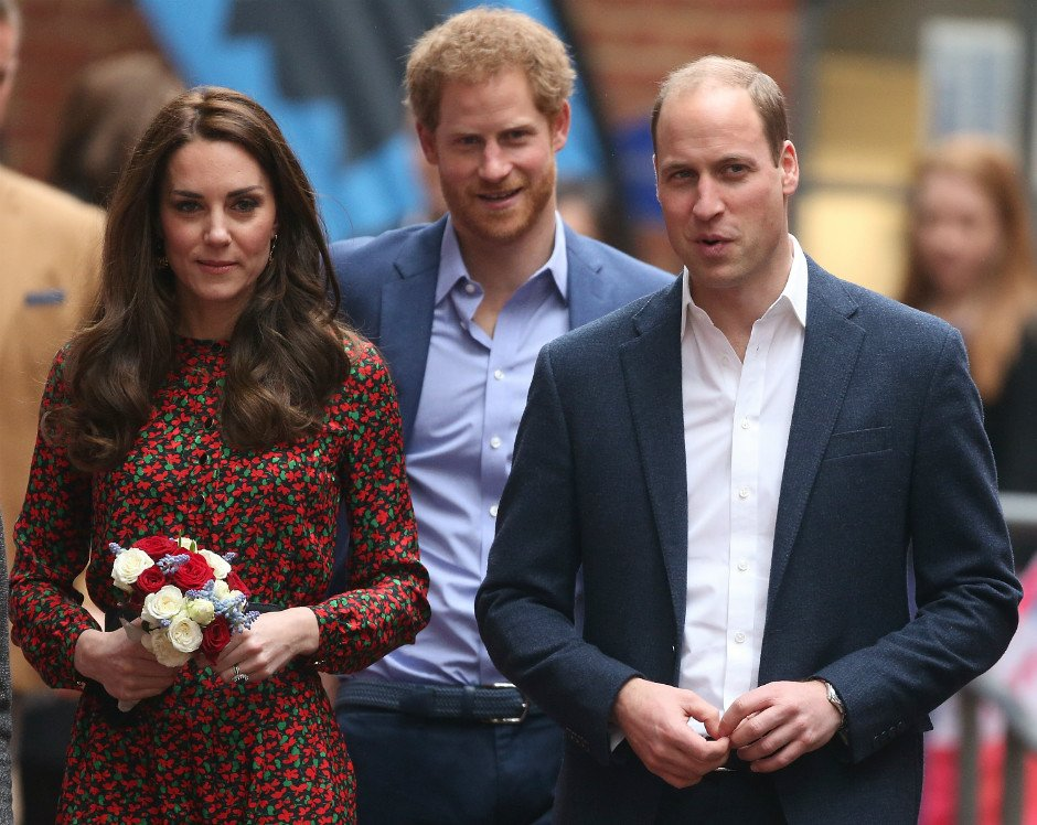Принц Гарри поздравил Кейт Миддлтон и принца Уильяма со скорым прибавлением в семье