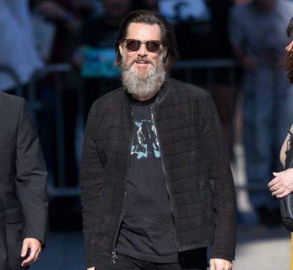 Джим Керри восхитил фанатов появлением без бороды