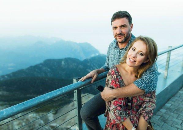 Ксения Собчак опубликовала милое фото с мужем
