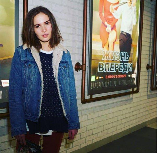 Лукерья Ильяшенко при выборе одежды полагается лишь на себя