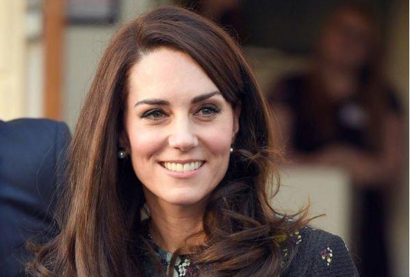 Впервые после объявление об ожидании третьего малыша Кейт Миддлтон вышла в свет