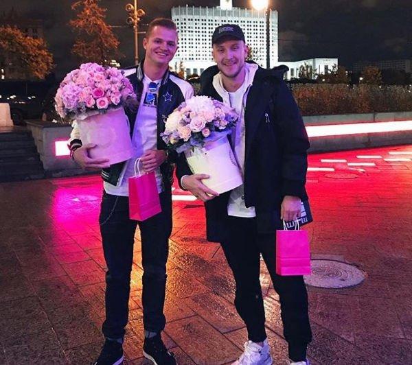 Дмитрий Тарасов и Анастасия Костенко посетили концерт близкого друга