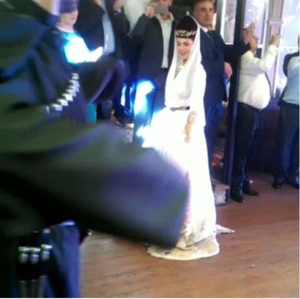 Сати Казанова отпраздновала свадьбу на Кавказе